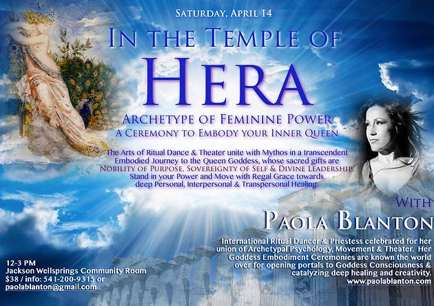 Ritual Embodiment - Journey to the Inner Queen with Paola Blanton