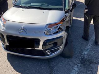 Verkehrsunfall in der Finsterleitenstraße (T1)
