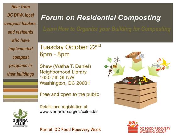 Loop Closing at Forum on Residential Composting