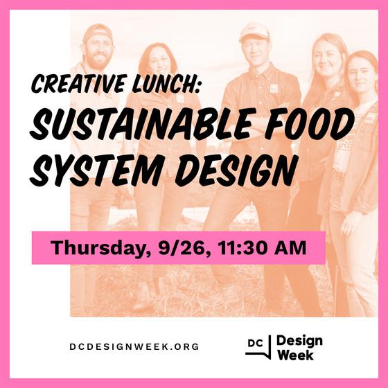 Loop Closing to Speak at DC Design Week's Creative Lunch
