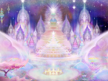 Crystal Temple Being of Light