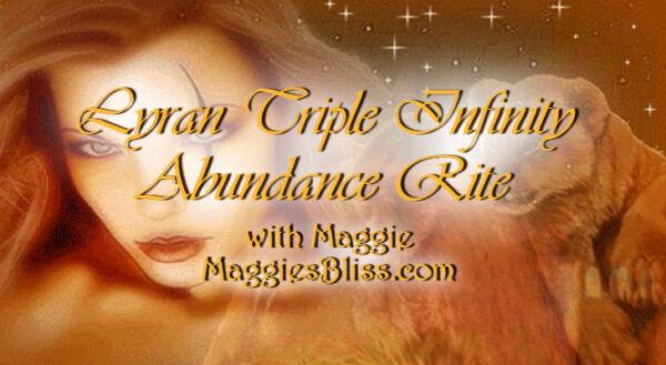 Lyran Triple Infinity Abundance Rite