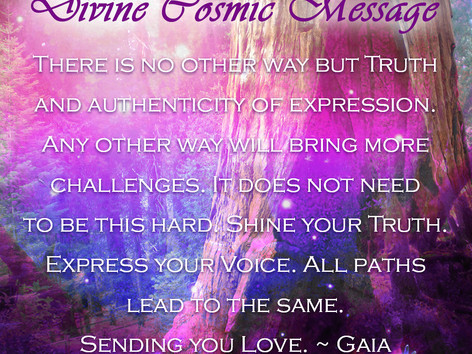 Divine Cosmic Message: Gaia
