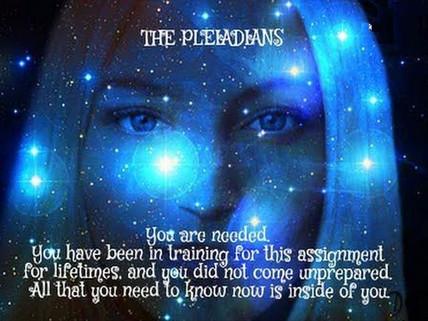 Pleiadeans &  the Pleiadean Lineup