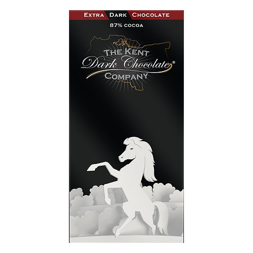 Extra Dark Chocolate Bar 87% Cocoa Organic