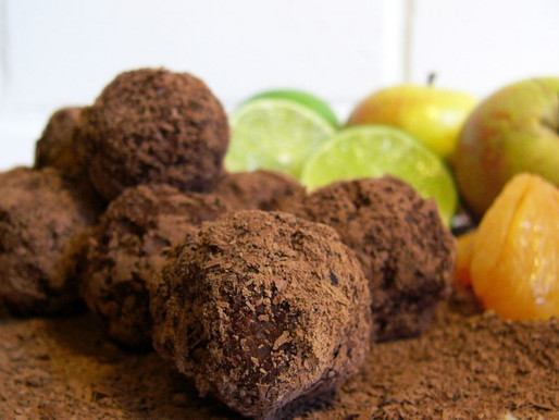 Fruity Dark Chocolate Truffles