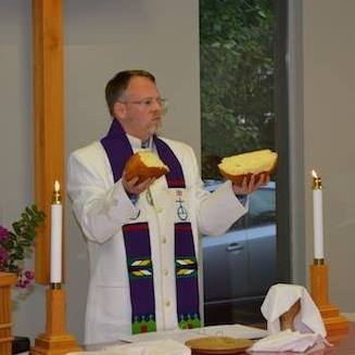 Pastor Scott Communion