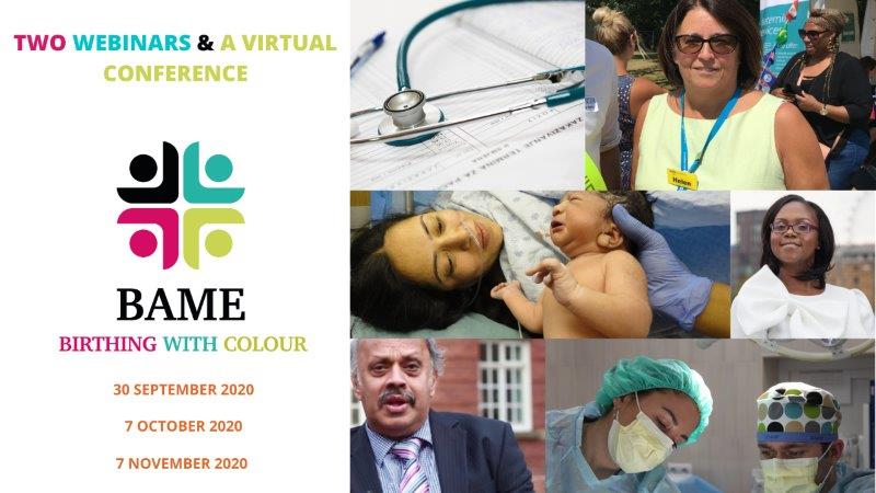 BAME Birthing With Colour Two Webinars &