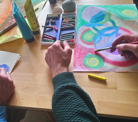 art therapy group workshops