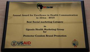 UHMG wins AfriComNet Award 2015