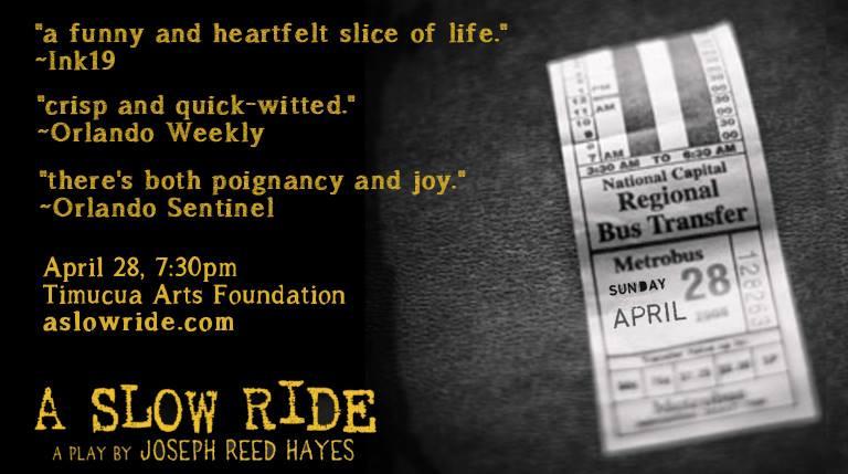 """A Slow Ride"" at Timucua Arts Foundation"