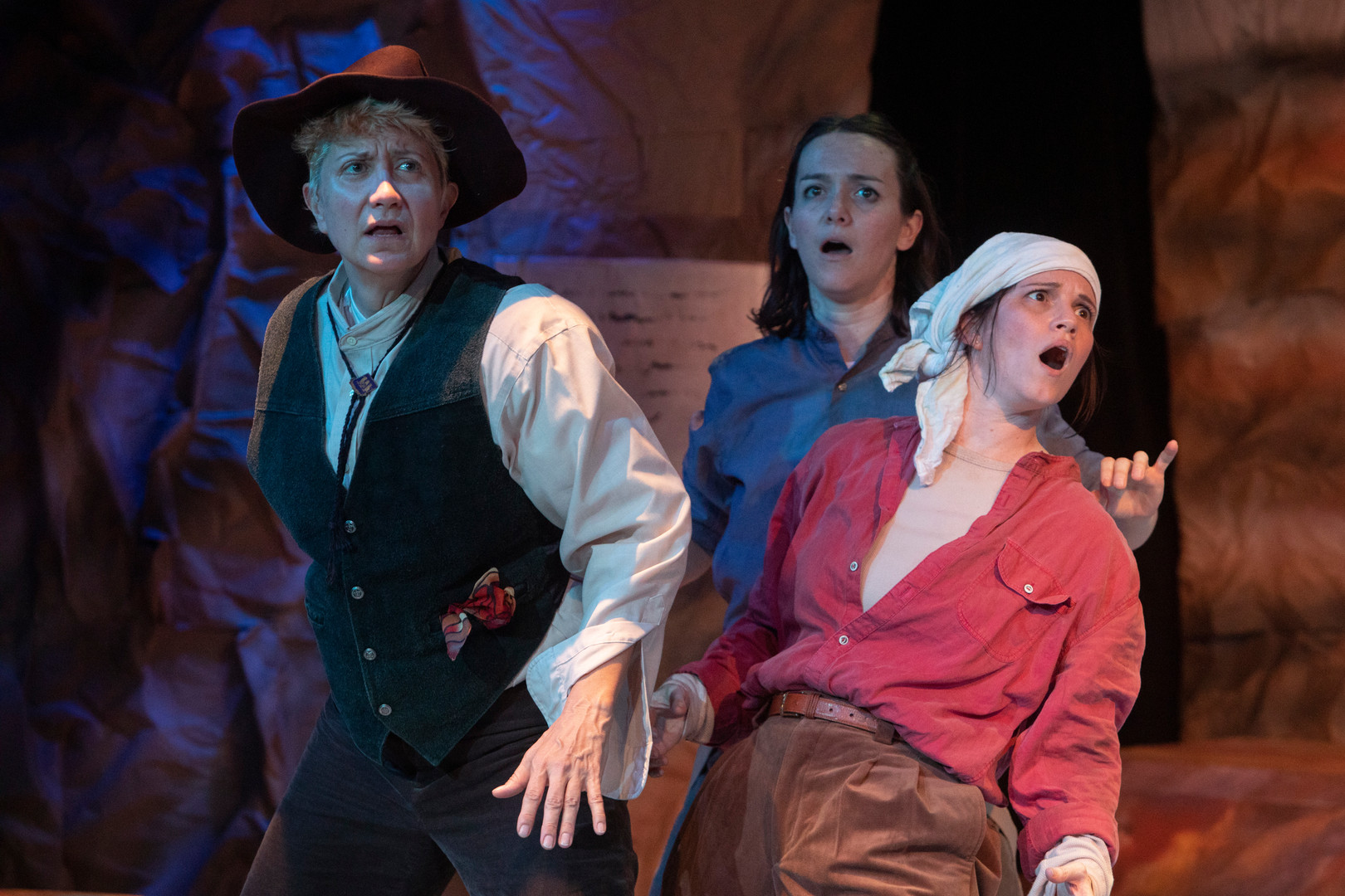 """""""Men on Boats"""" Mad Cow Theatre"""
