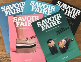 """Wirtschaftsmagazin """"Savoir Faire"""""""