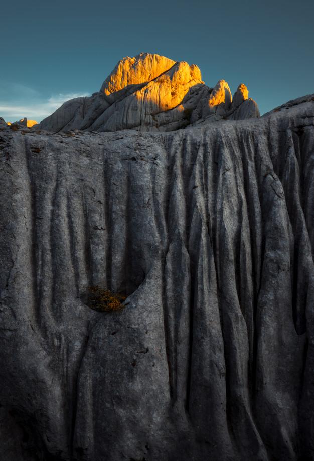 Portrait of a mountain