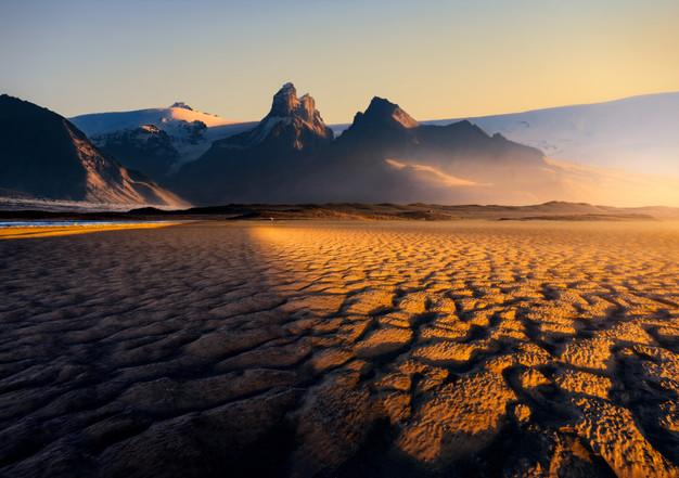 Glacial desert