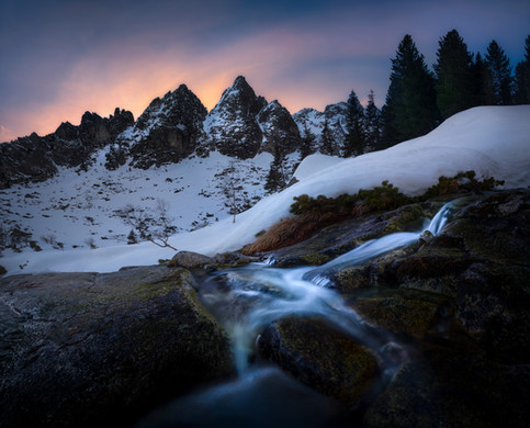 Cold creeks of High Tatras
