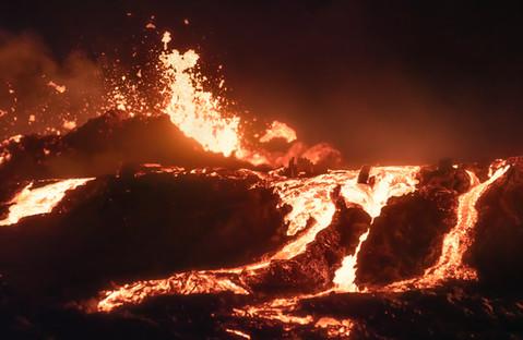 Fiery chaos