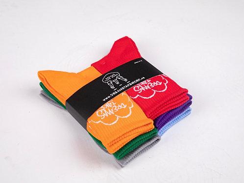 Color Dream Socks (6 pair package)