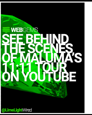 WEB GEMS | @EventElevator Goes BTS of Maluma's World Tour