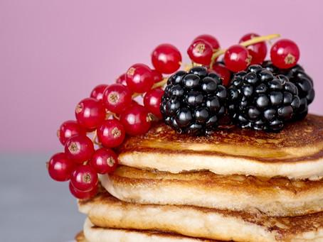 Fluffy vegan zondagse pancakes