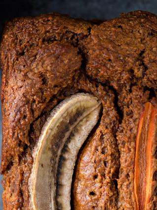 Bananen-carrot-cake met roomkaasfrosting