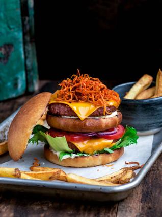 Big ass vegan burger