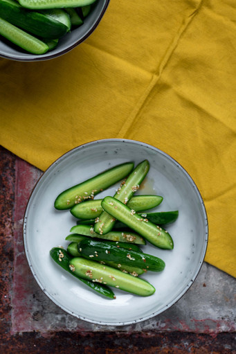 Komkommersalade - Milou van der Will WEB