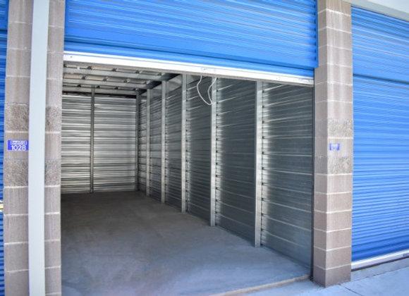 5 by 10 Indoor Storage Unit