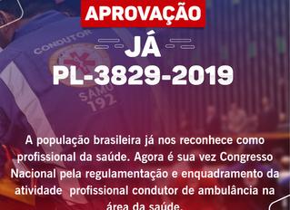 PL-3829-2019 - APROVAÇÃO JÁ!
