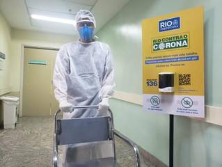 Coronavírus: o desafio diário de maqueiros, motoristas de ambulância e trabalhadores de apoio dos ho