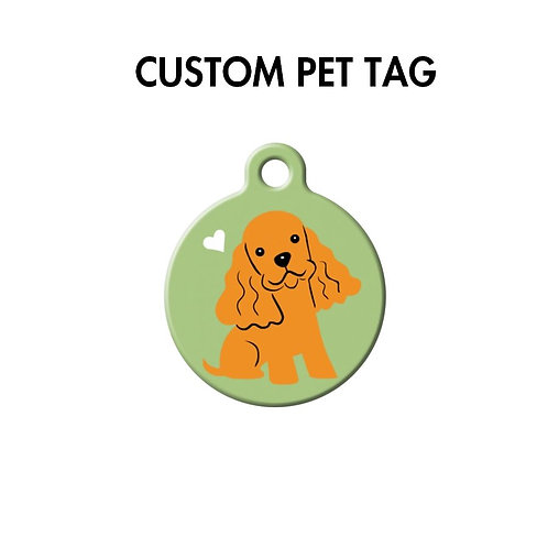 Custom Pet ID Tag by dogtagart