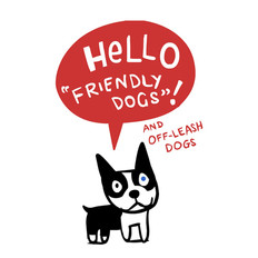 Hello Friendly Dogs (booklet)