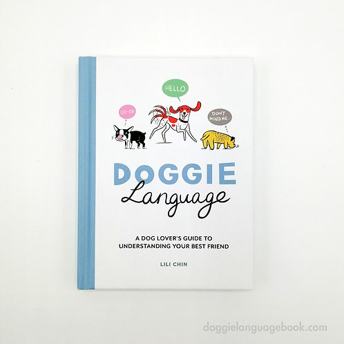 SIGNED - Doggie Language gift book