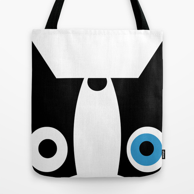 BOOGIE FACE tote