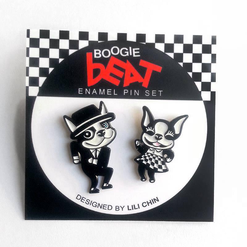 BoogieBeat- pinset - Lili Chin