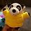 Thumbnail: Plush Panda - squeaky dog toy