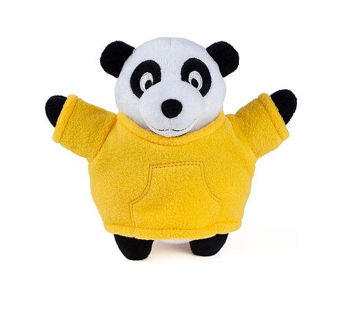 Plush Panda - squeaky dog toy