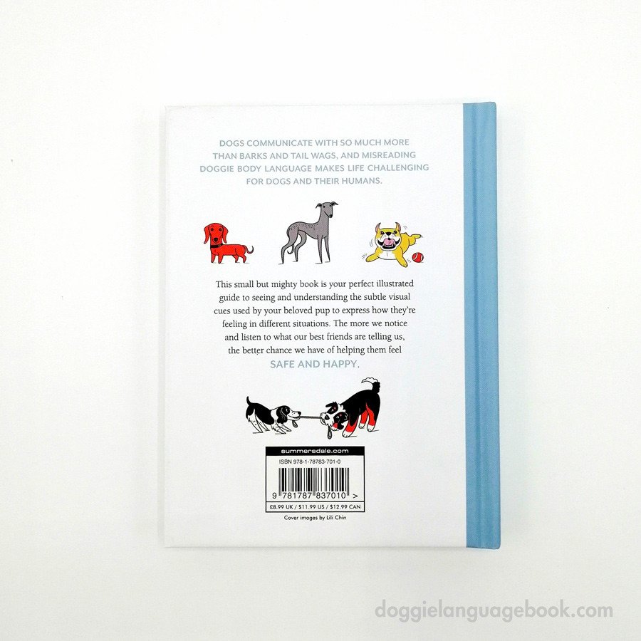 Doggie Language - Back of Book