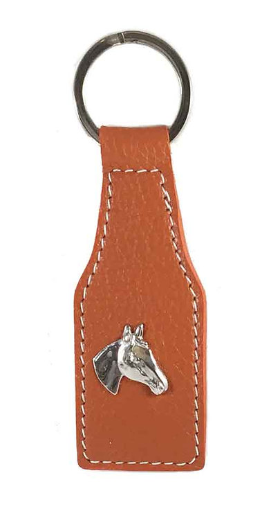 Key Chain Orange Silver