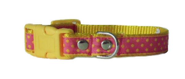 Dots Pink Yellow