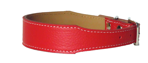 Pebble Tapered Collar Red