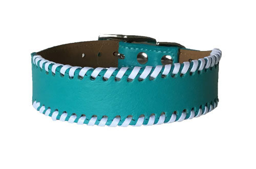 Laced Collar Dolphin Blue