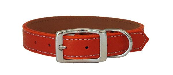 Pebble Straight Collar Orange