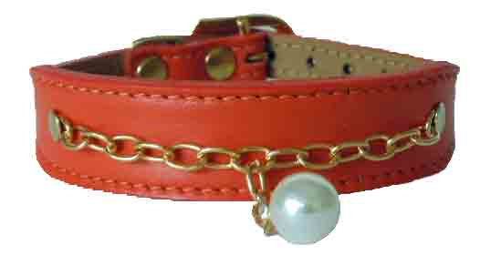 Mango Luscious  Tapered Collar with Pearl
