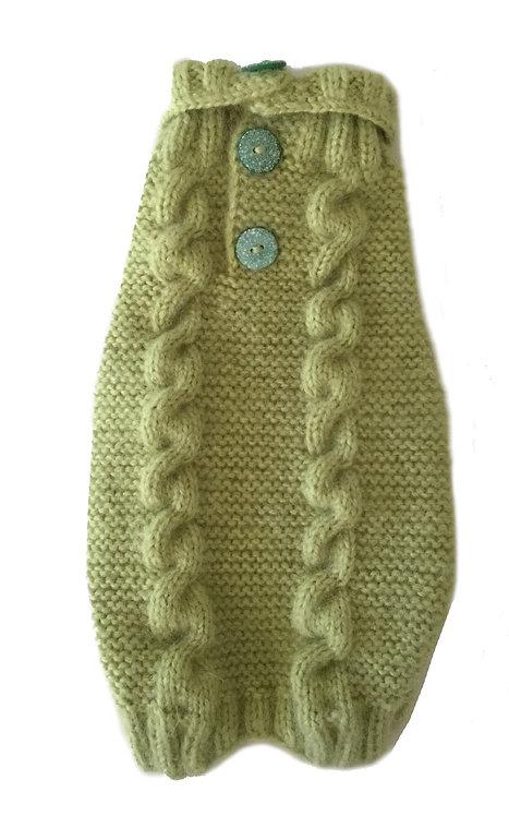 Sweater Light Green Alpaca