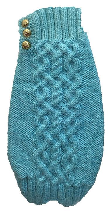 Sweater Aqua Blue Alpaca Cables