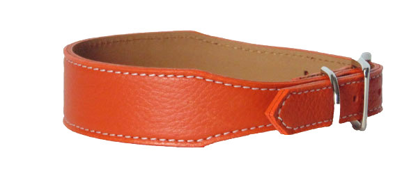 Pebble Tapered Collar Orange