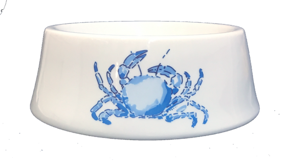 Blue Crab Ceramic Bowl