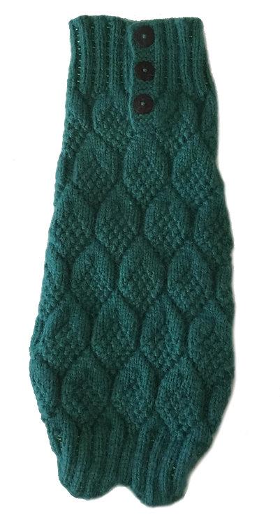 Lozange Sweater Green