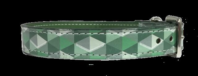 Escher Collar Green